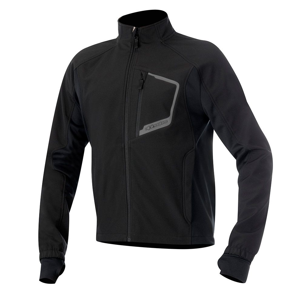 Bunda TECH LAYER TOP, ALPINESTARS (čierna)