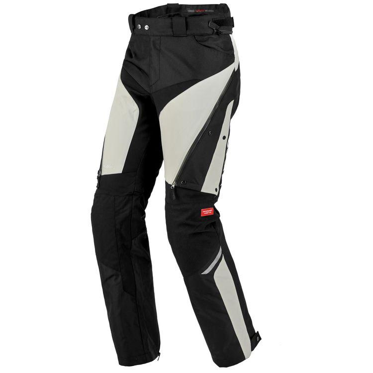Nohavice 4SEASON, SPIDI (svetlé šedé/čierne)