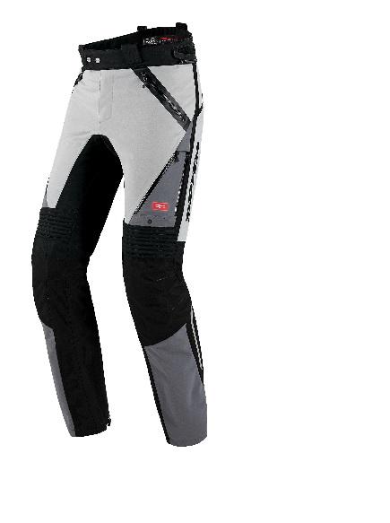 Nohavice GLOBETRACKER,SPIDI (svetlá šedá/čierna)