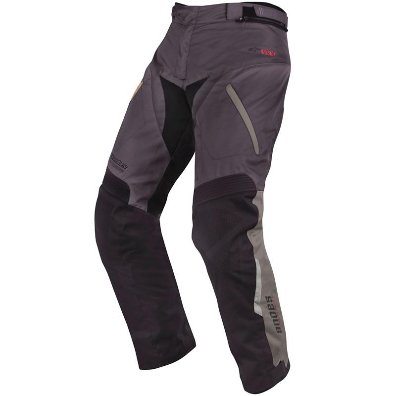 Nohavice Andes Drystar, ALPINESTARS (šedá/čierna)