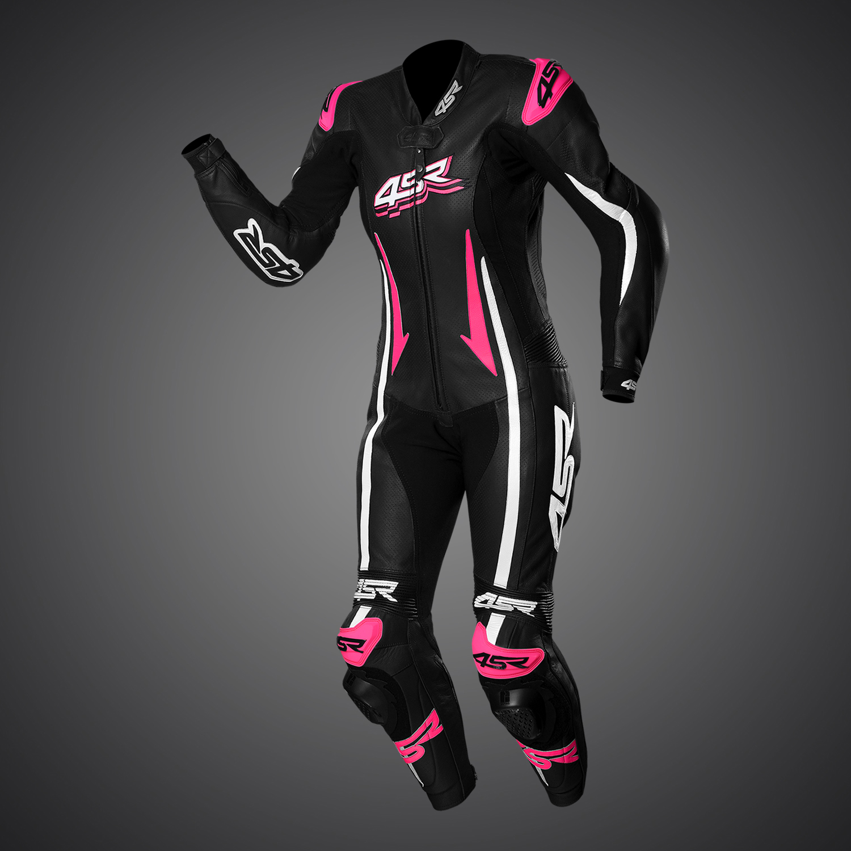 4SR Kombinéza Racing Lady Pink