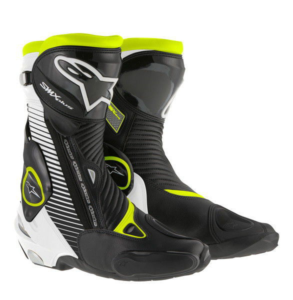 Topánky SMX Plus , Alpinestars (čierne/biele/žlté fluo)