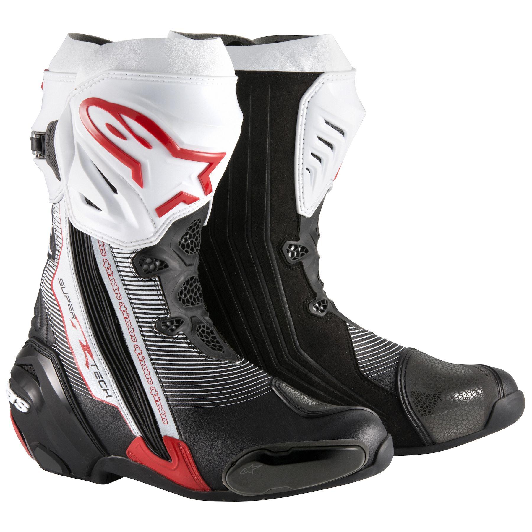 Topánky SUPERTECH R, ALPINESTARS (čierne/biele/červené)
