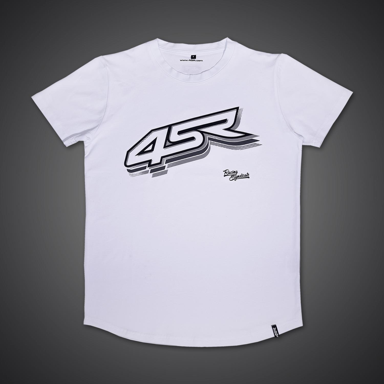 4SR Tričko Logo White