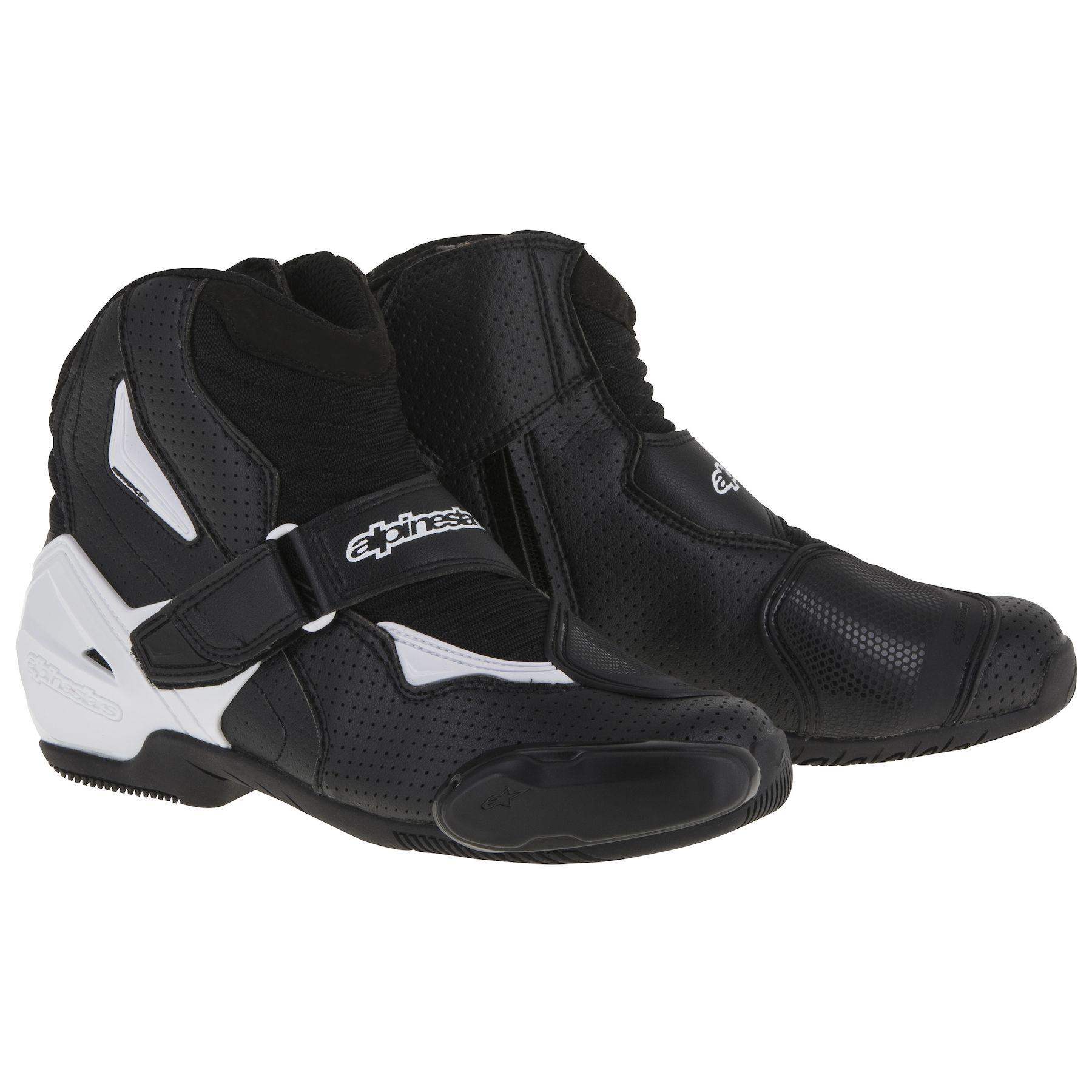 Topánky SMX-1 R, ALPINESTARS (biele/čierne)
