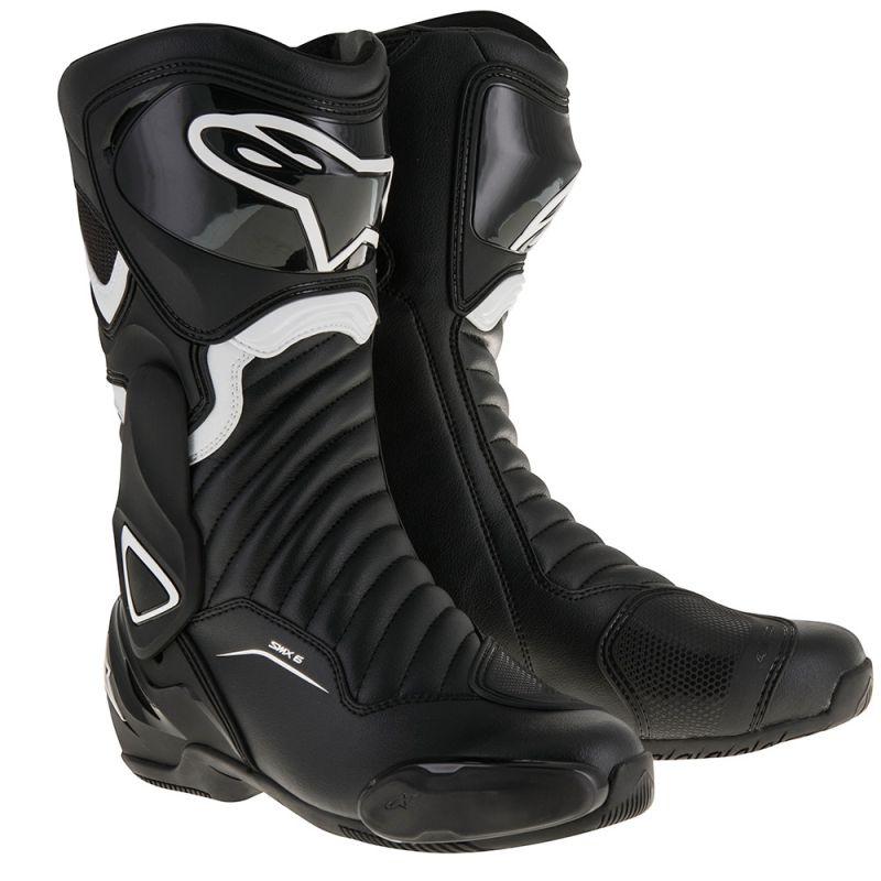 Topánky S-MX 6 , ALPINESTARS (čierne/biele)
