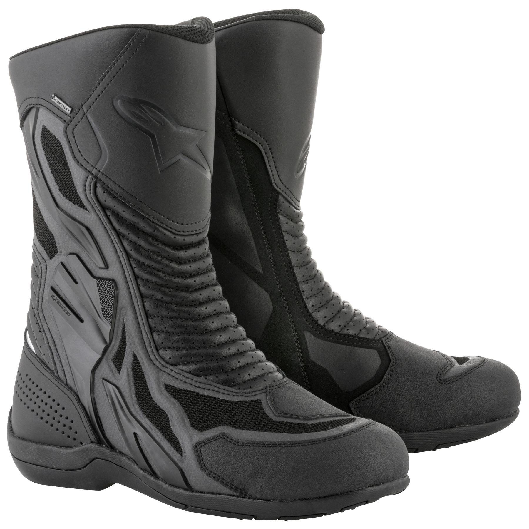 Topánky AIR PLUS XCR GORE-TEX , ALPINESTARS (čierne)