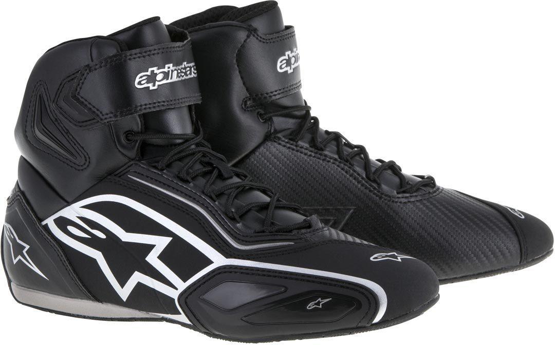 Topánky  FASTER 2, ALPINESTARS (čierne/strieborná)