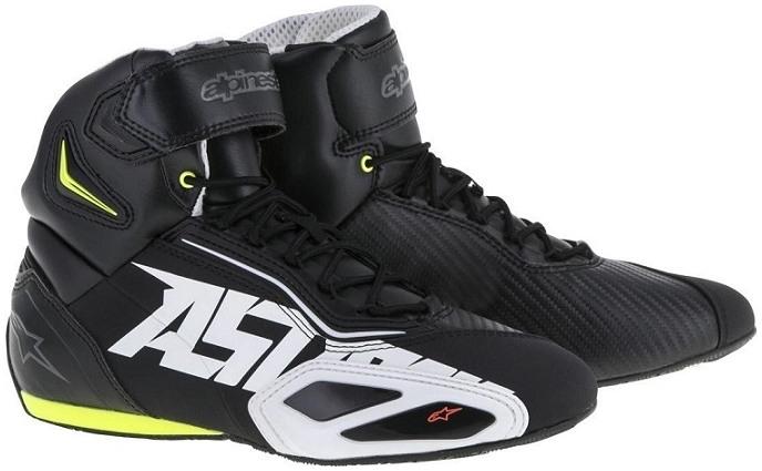Topánky FASTER 2, ALPINESTARS (čierne/biele/žlté fluo)