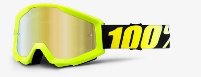 Okuliare STRATA  NEON YELLOW, 100% (zlaté chrom plexi)