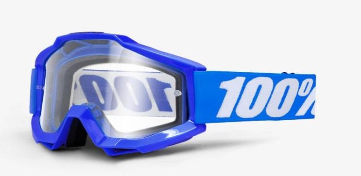 Okuliare ACCURI REFLEX BLUE, 100% (číre plexi)