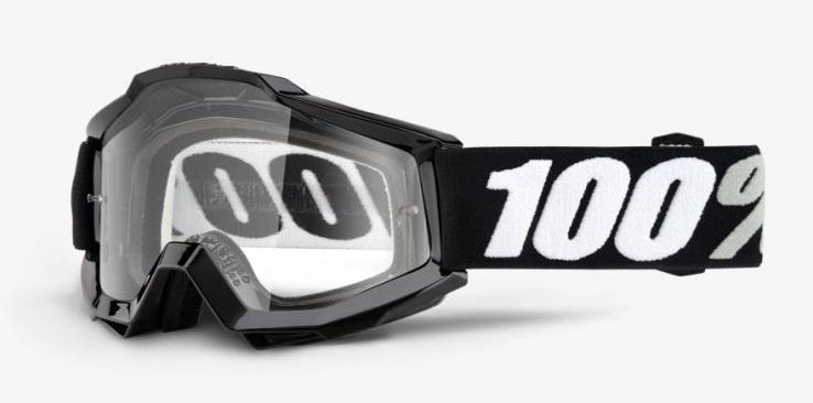 Okuliare ACCURI TORNADO, 100% (číre plexi)