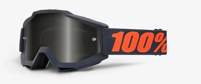 Okuliare ACCURI SAND GUNMETAL, 100% (šedé plexi)