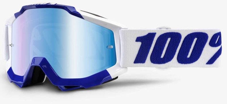 Okuliare ACCURI CALGARY, 100% (modré plexi/číre plexi)