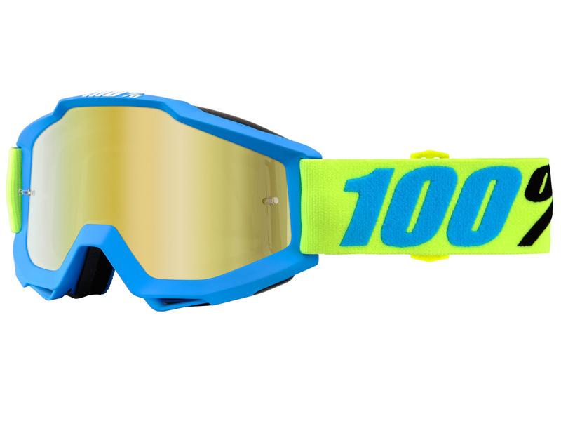 Okuliare ACCURI BELIZE, 100% (zlaté chrom plexi/číre plexi)