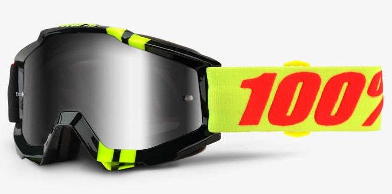 Okuliare ACCURI ZERBO, 100% (strieborné chrom plexi/číre plexi)