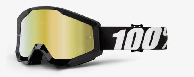 Okuliare STRATA OUTLAW, 100% (zlaté chrom plexi)