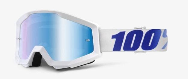 Okuliara STRATA EQUINOX, 100% (modré chrom plexi)