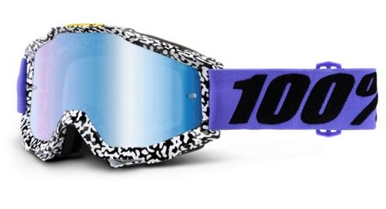 Okuliare ACCURI BRENTWOOD, 100% (modré chrom plexi/číre plexi)