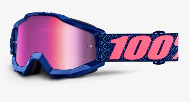 Okuliare ACCURI FUTURA, 100% (ružové chróm plexi)