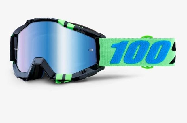 Okuliare ACCURI ZERG, 100% (modré chrom plexi)