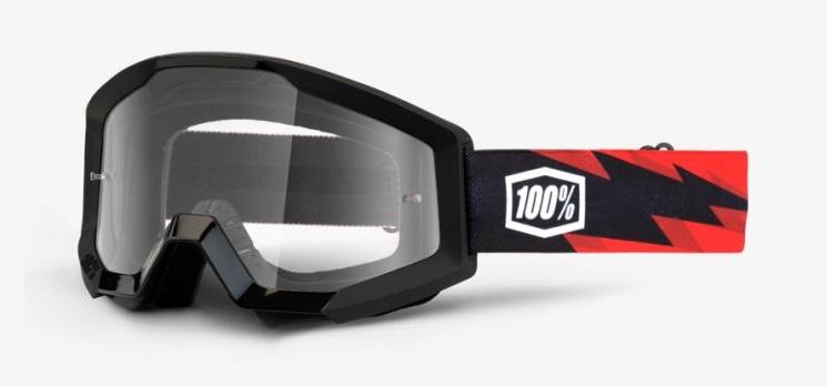 Okuliare STRATA SLASH, 100% (číre plexi)