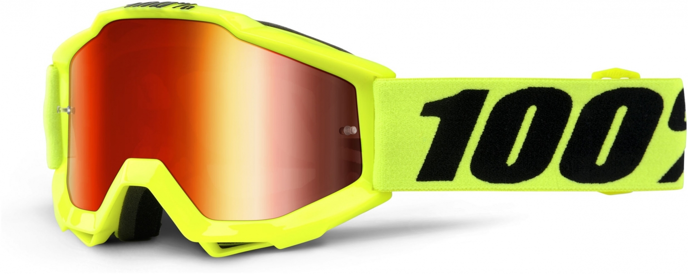 Okuliare ACCURI JR FLUO YELLOW, 100%
