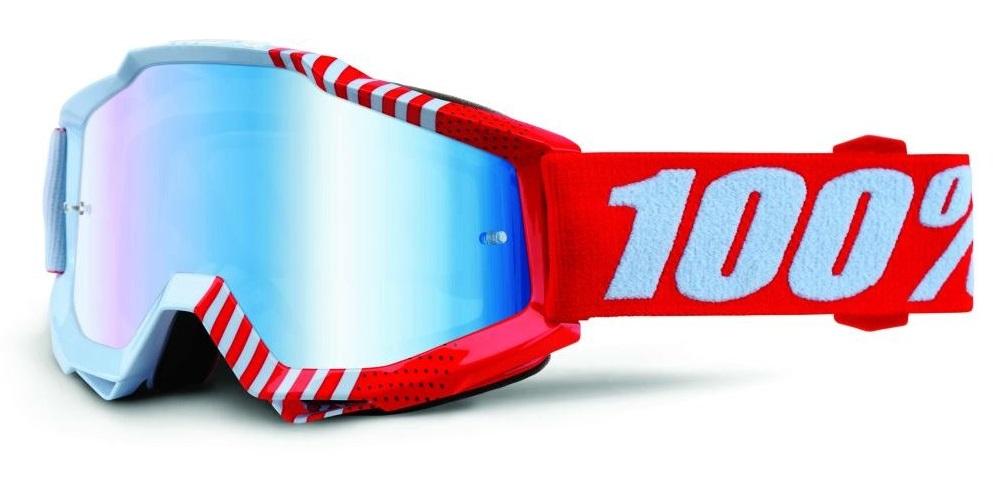 Okuliare ACCURI JR CUPCOY, 100% (modré chrom plexi)