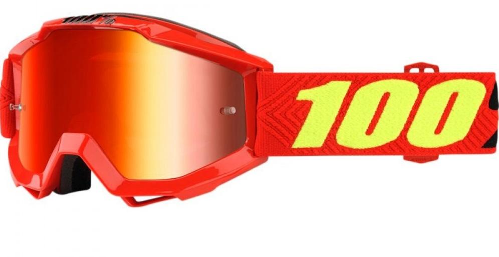 Okuliare ACCURI SAARINEN, 100% (červené chrom plexi)