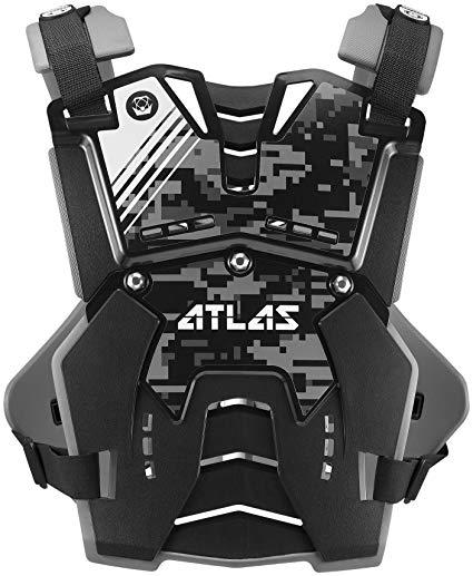Chránič hrude a chrbta DEFENDER DIGITAL STEALTH, ATLAS (detský)