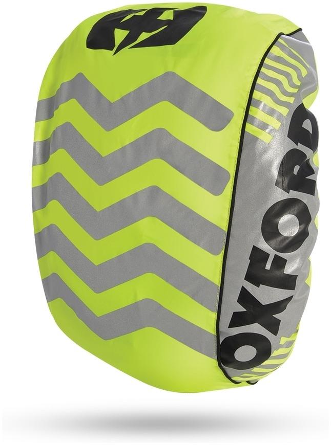 Reflexná pláštenka na batoh BRIGHT COVER, OXFORD (žltá/reflexné prvky , Š X V = 640 X 720 MM)