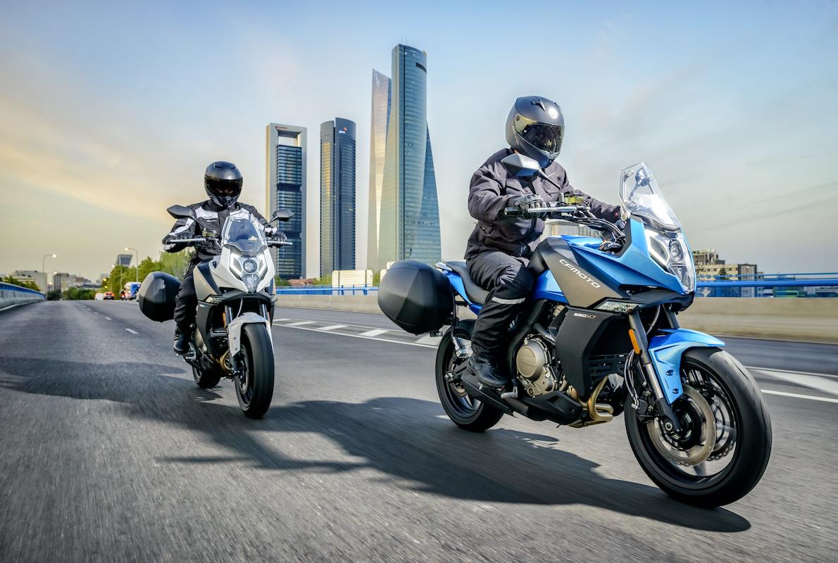 CF MOTO MT 650 ABS 2020 Blue