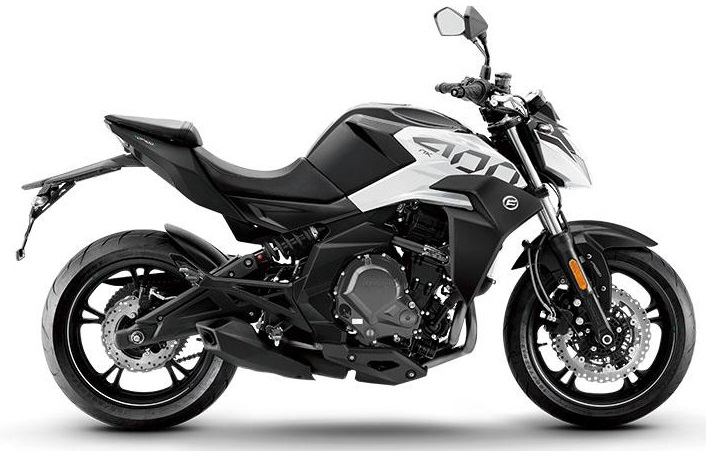 Motocykel CF MOTO NK 400 ABS 2019 White Pearl