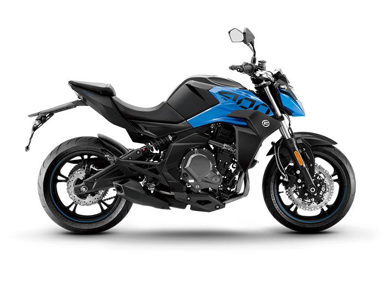 Motocykel CF MOTO NK 400 ABS Blue