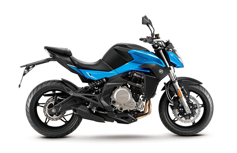 Motocykel CF MOTO NK 650 ABS 2019 Blue
