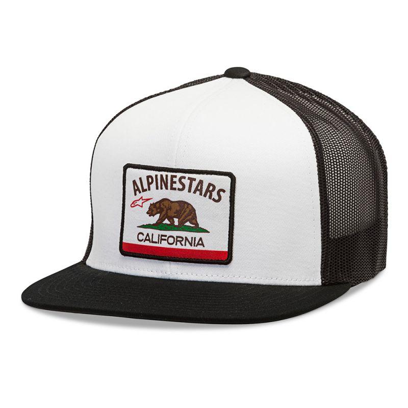 ŠILTOVKA CALIER HAT, ALPINESTARS (BIELA)