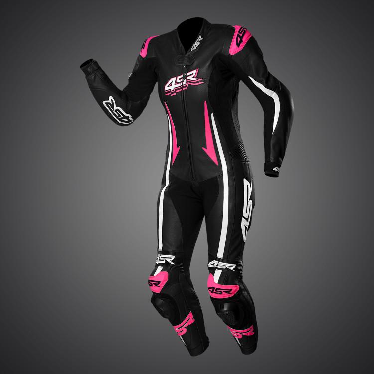 4SR Kombinéza Racing Lady Pink 020