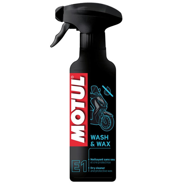 MOTUL MC CARE E1 WASH WAX (400ml)