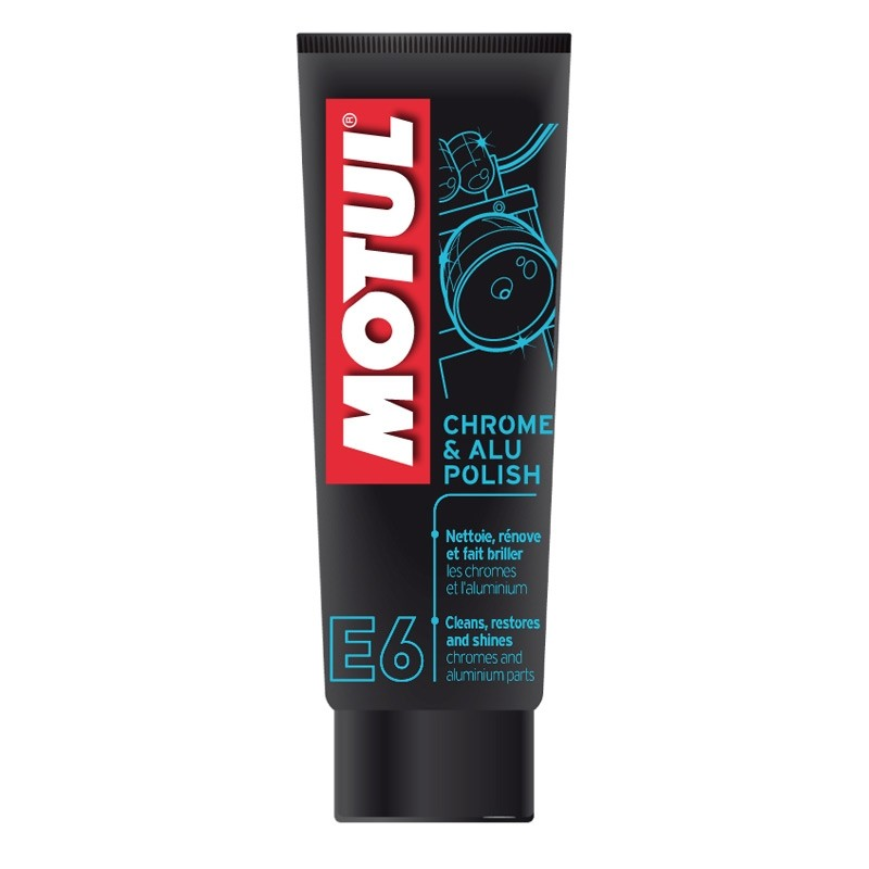 MOTUL MC CARE E6 CHROME ALU POLISH (100ml)