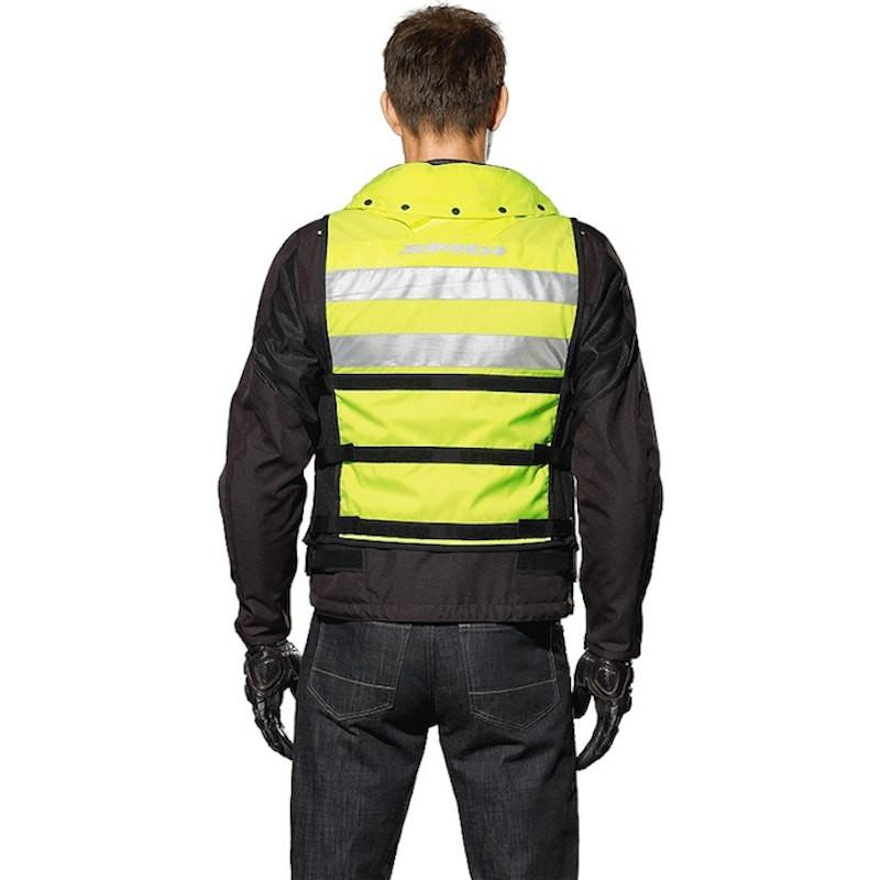 Vesta s krčným airbagom NECK DPS VEST , SPIDI (žltá)