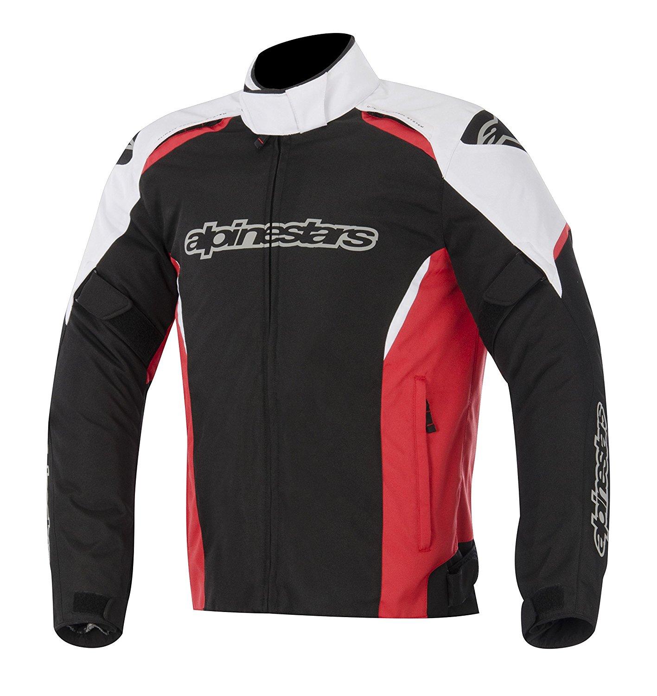 Bunda Gunner Waterproof, ALPINESTARS (čierna/biela/červená)