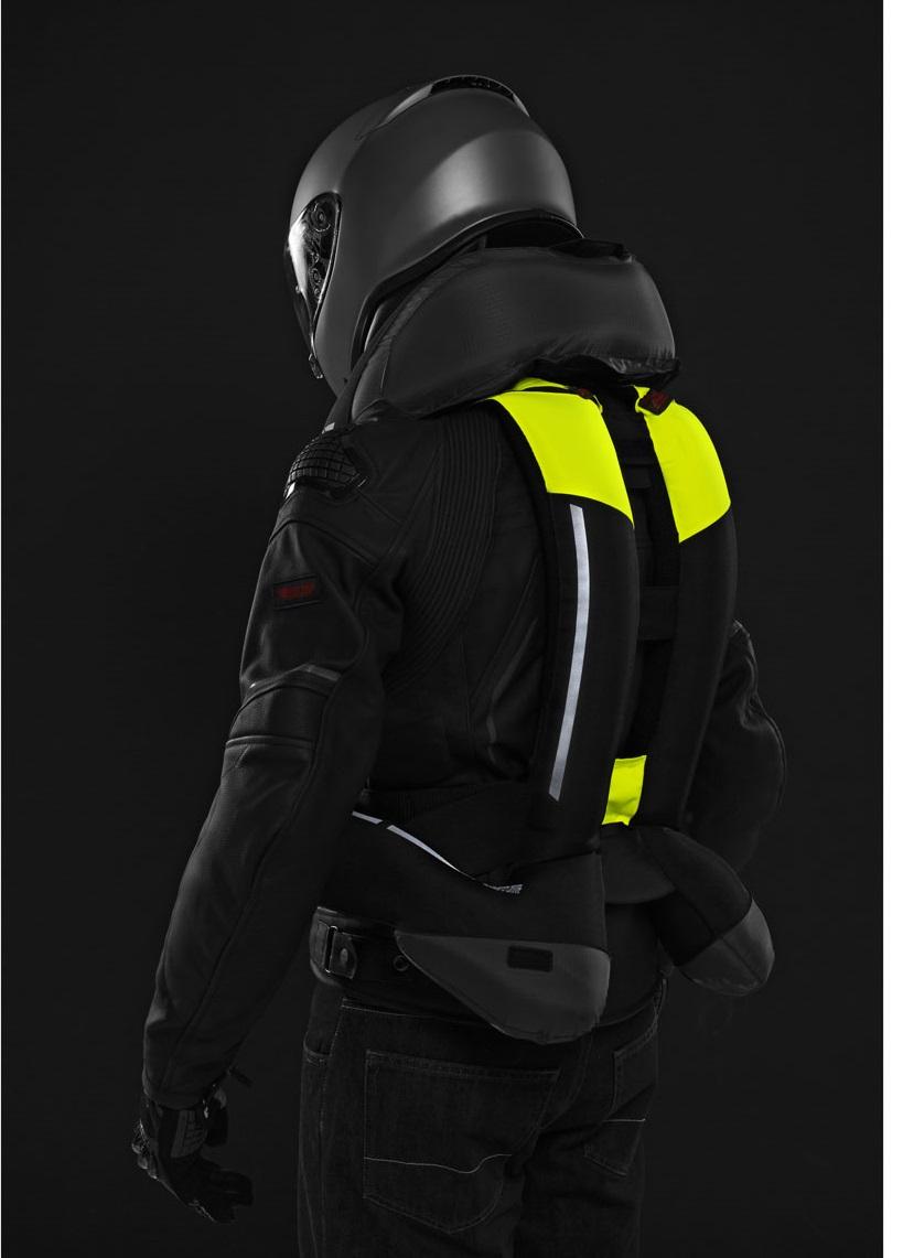 Vesta s airbagom FULL DPS VEST , SPIDI (čierna/žltá fluo)