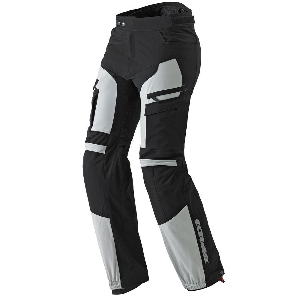 Nohavice 4SEASON,SPIDI (svetlé šedé/čierne)